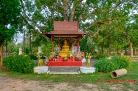 Wat Nong Ya Ma (วัดหนองหญ้าม้า) Tambon Nai Mueang, Amphoe Mueang Roi Et, Chang Wat Roi Et 45000, Thailand.
